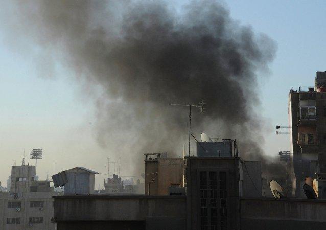 Attacco aereo a Damasco