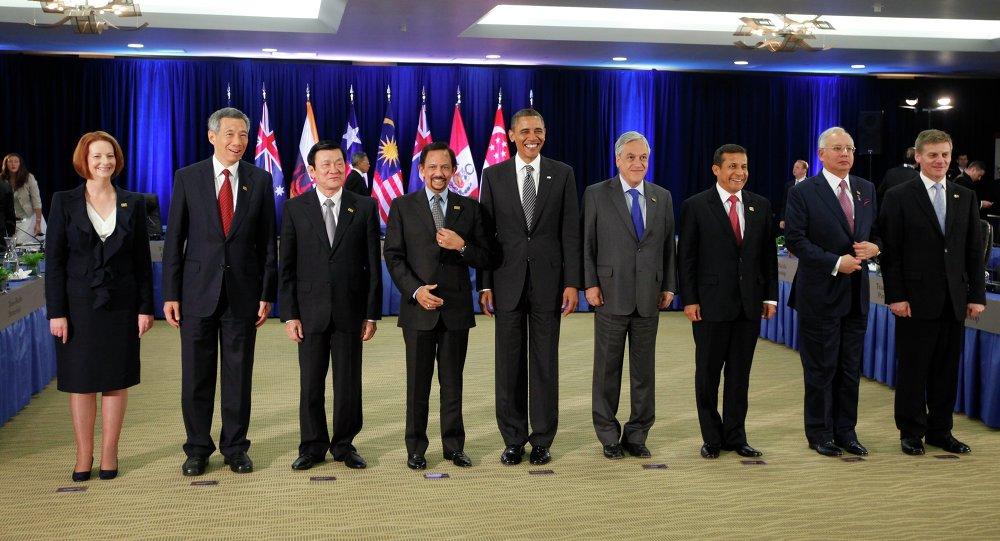 """Barack Obama e leader del """"Partenariato Trans-Pacifico"""""""