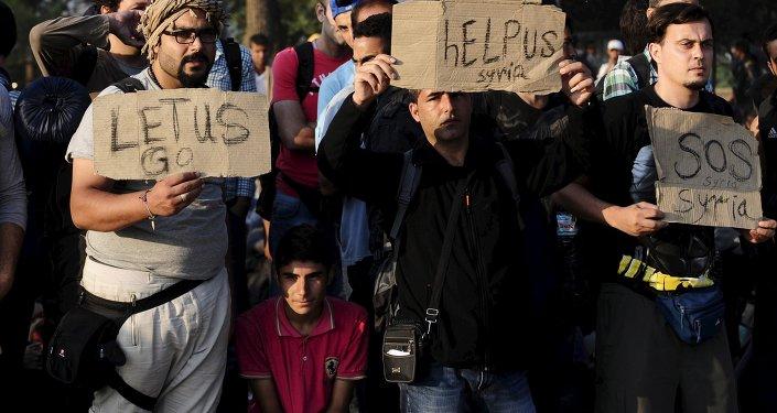 Macedonia migranti