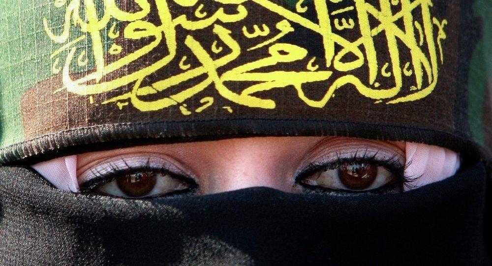 Una donna jihadista