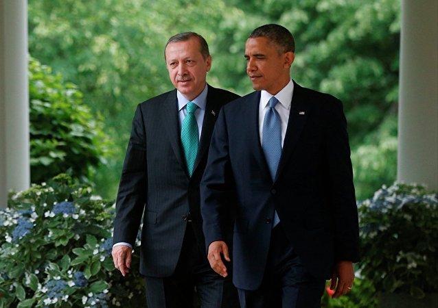 Recep Tayyip Erdoğan e Barack Obama