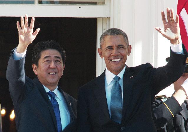 Shinzo Abe e Barack Obama