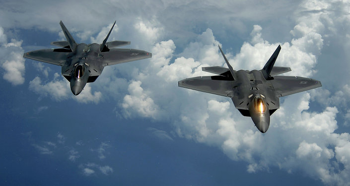 Caccia USA F-22 Raptor