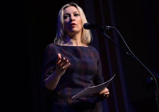 Maria Zakharova, portavoce del ministero degli Esteri russo