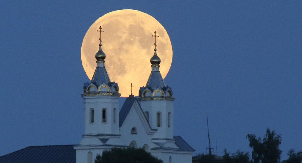 Superluna in Bielorussia