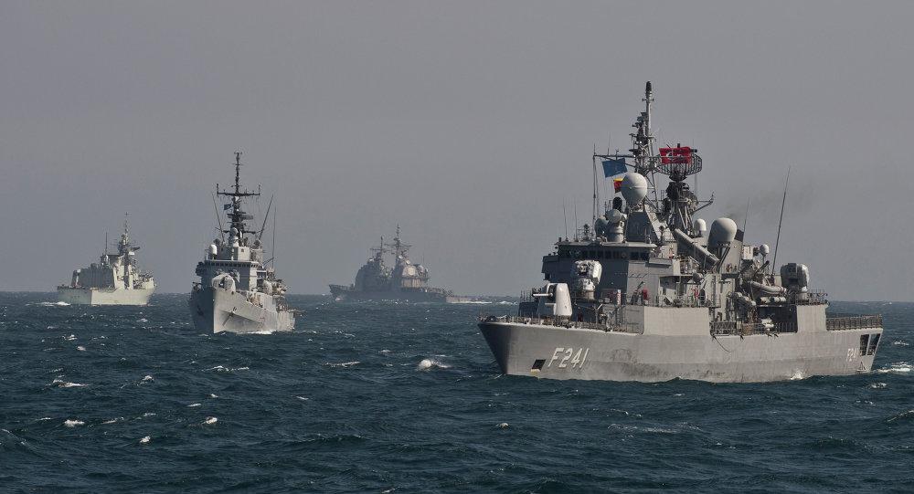 Navi NATO nel Mar Nero (foto d'archivio)