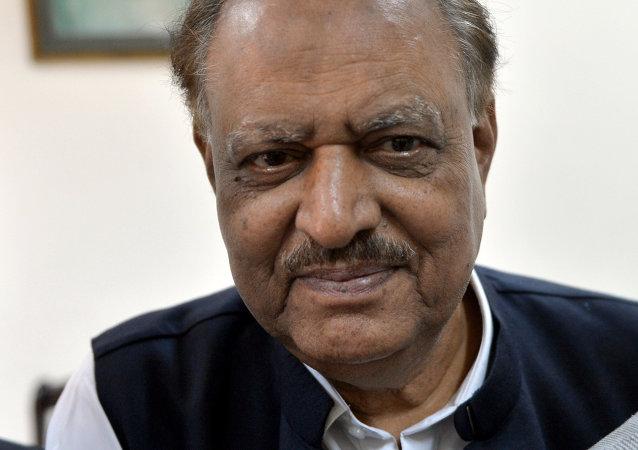 Mamnoon Hussain, presidente de Pakistán