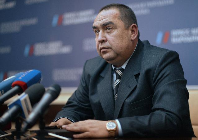 Igor Plotnitsky, presidente Repubblica Popolare di Lugansk (foto d'archivio)