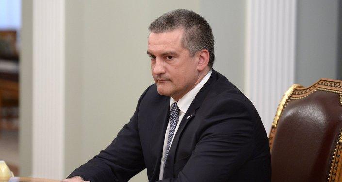 Sergey Aksenov, presidente della Repubblica di Crimea