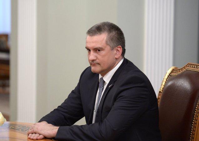 Sergej Aksenov, presidente della Repubblica di Crimea