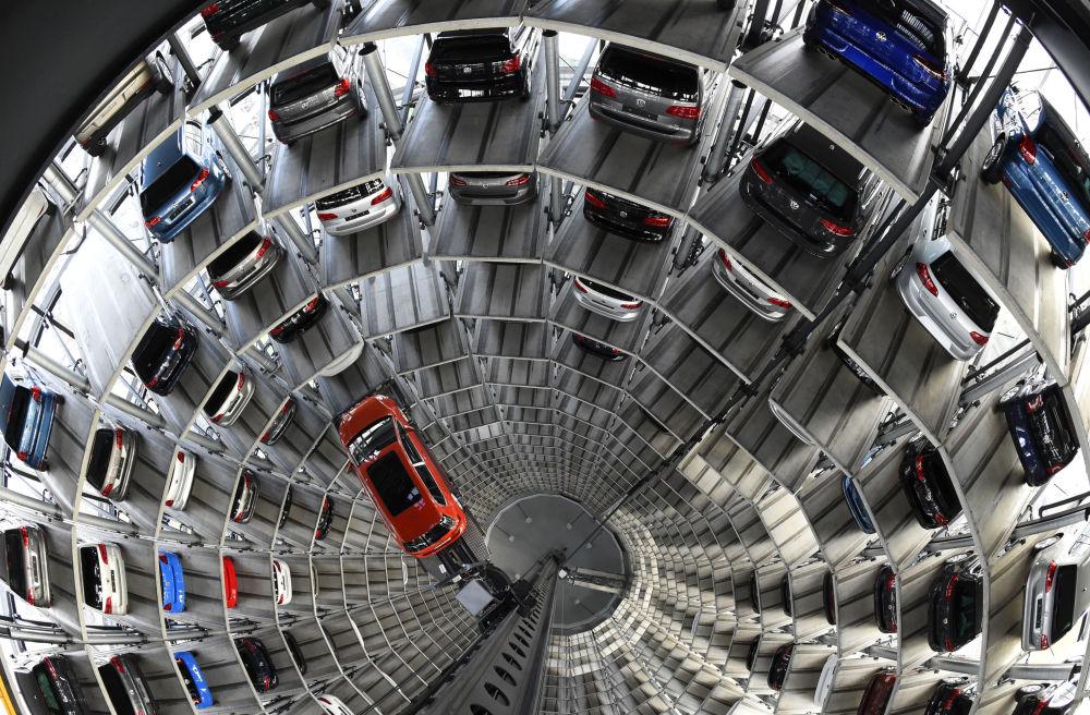 Lo stabilimentio Volkswagen a Wolfsburg.