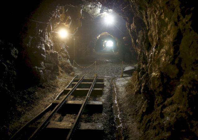 Un tunnel nei pressi della città di Wałbrzych in Polonia.