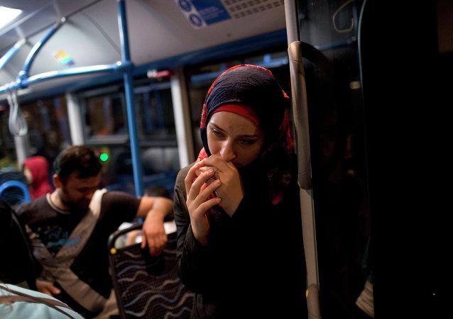 Profughi siriani a Budapest verso Germania e Austria