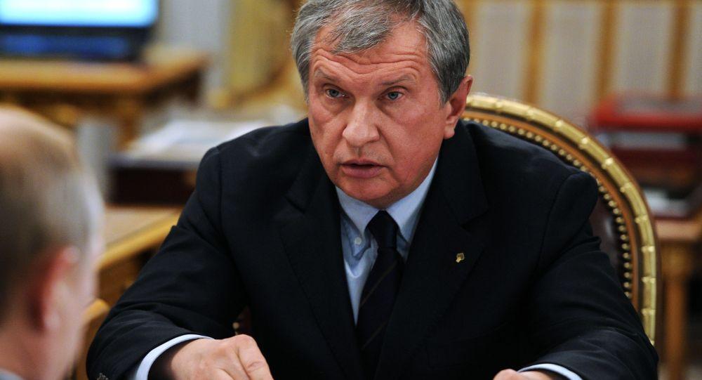 A.d. di Rosneft Igor Sechin