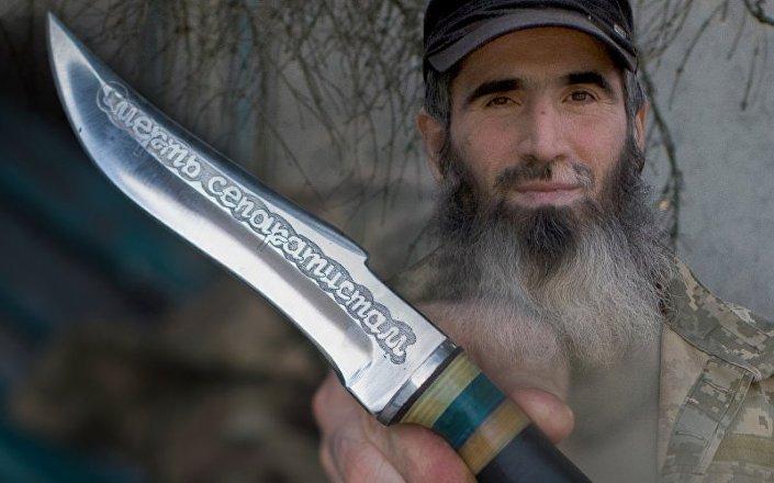 Jihadista ceceno nel Donbass