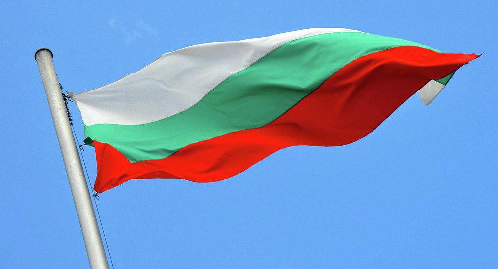 La bandiera della Bulgaria
