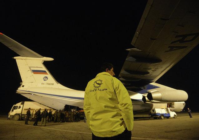 Aereo russo in Siria (foto d'archivio)