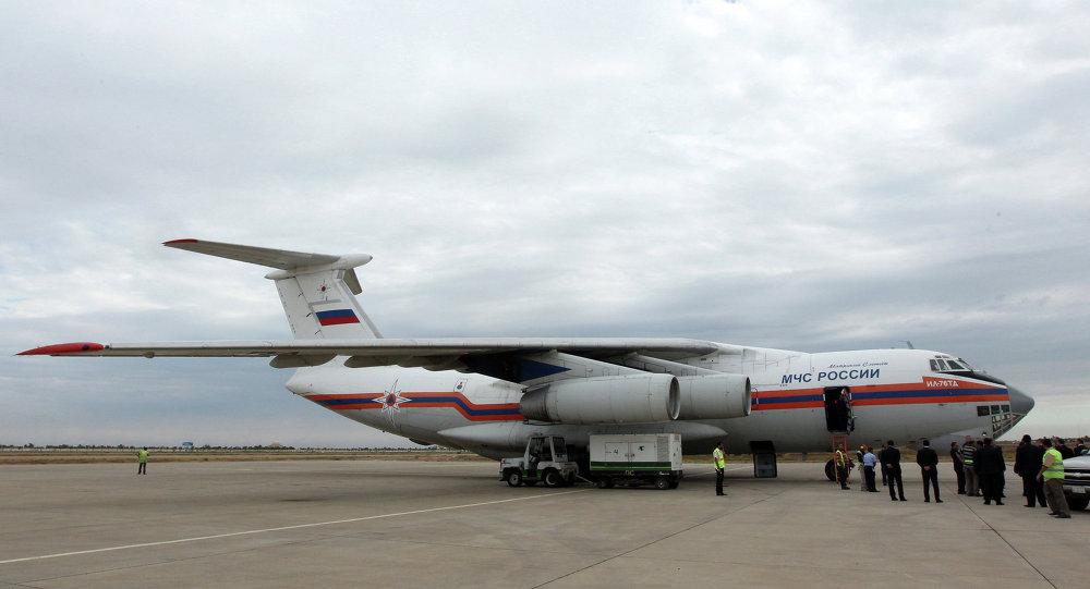 Cargo russo in Siria