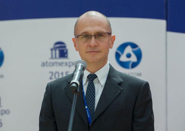 Il dg del Rosatom Sergei Kirienko