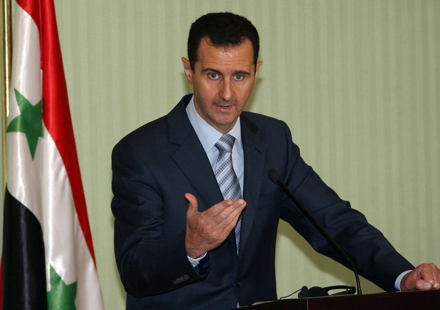 Presidente siriano Bashar Assad (foto d'archivio)