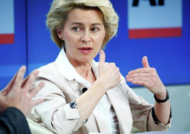 Ministro Difesa Germania Ursula von der Leyen