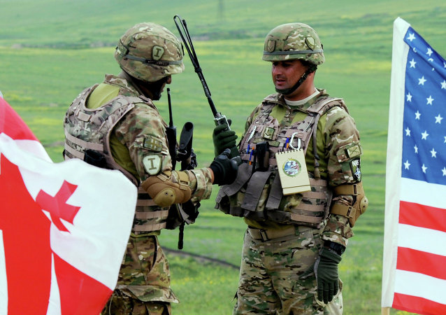 Esercitazioni militari tra USA e Georgia (foto d'archivio)