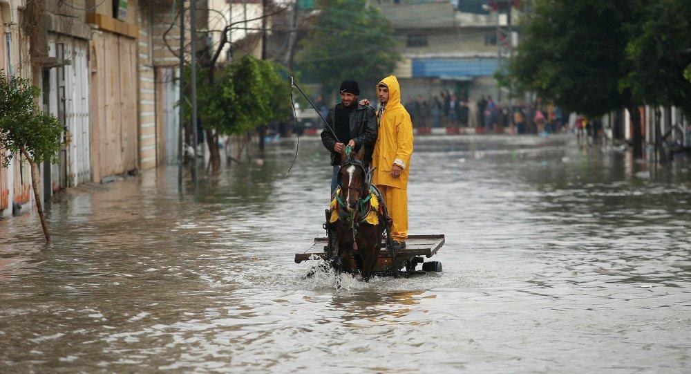 Alluvione in Gaza