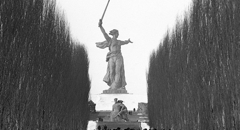 Il monumento alla Gloria dell'Armata Rossa, Stalingrado