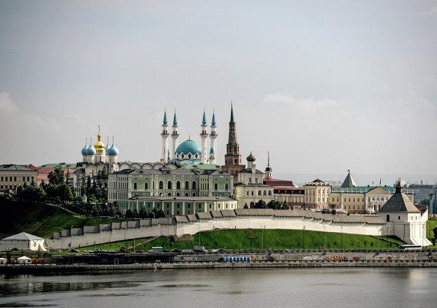 Veduta del Cremlino di Kazan