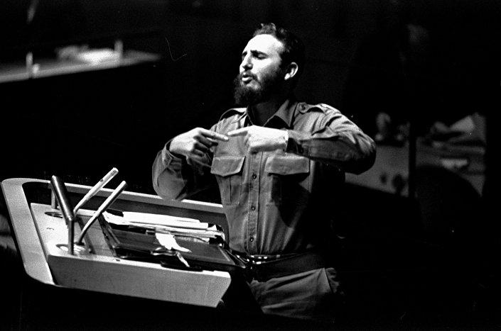 L'intervento più lungo nella storia delle assemblee generali dell'ONU fu quello di Fidel Castro il  26 settembre 1960