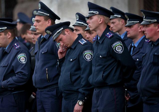 Polizia ad Odessa