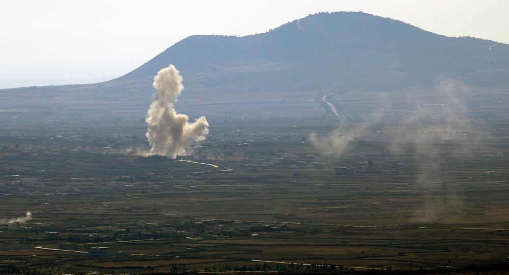 Alture del Golan, confine tra Israele e Siria