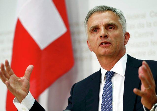 Ministro degli Esteri svizzero Didier Burkhalter