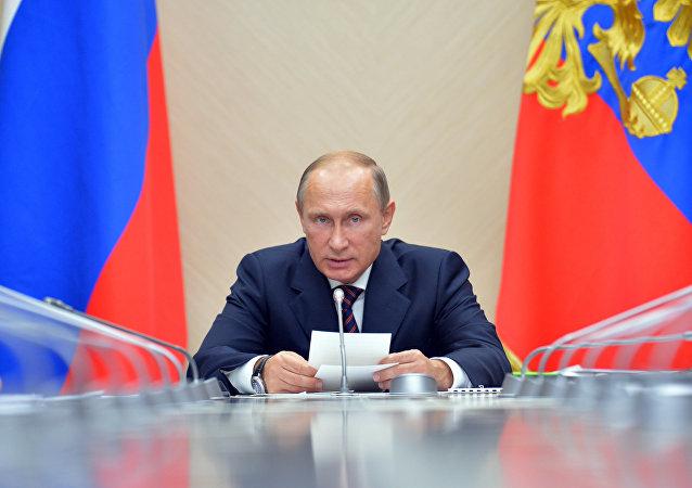 Vadimir Putin (foto d'archivio)