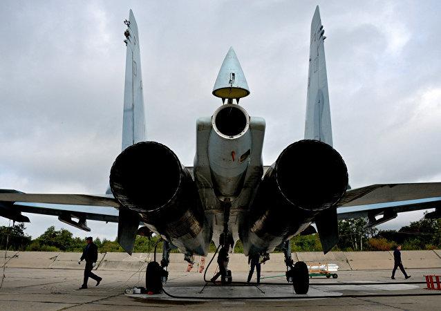 Caccia russo SU-27SM.