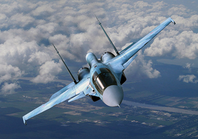 Caccia russo Sukhoi Su-34