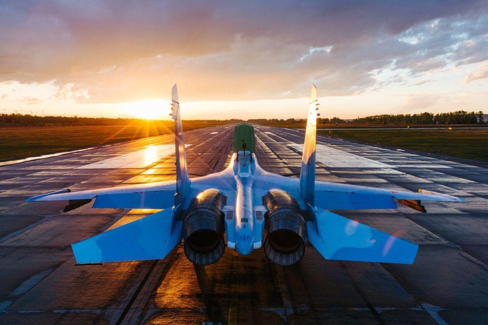 Il caccia Su-20SM.