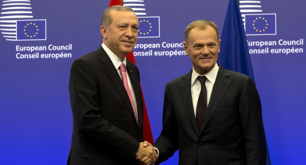 Recep Tayyip Erdogan e Donald Tusk