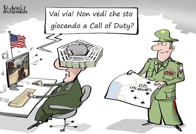 Pentagono contro Call of Duty