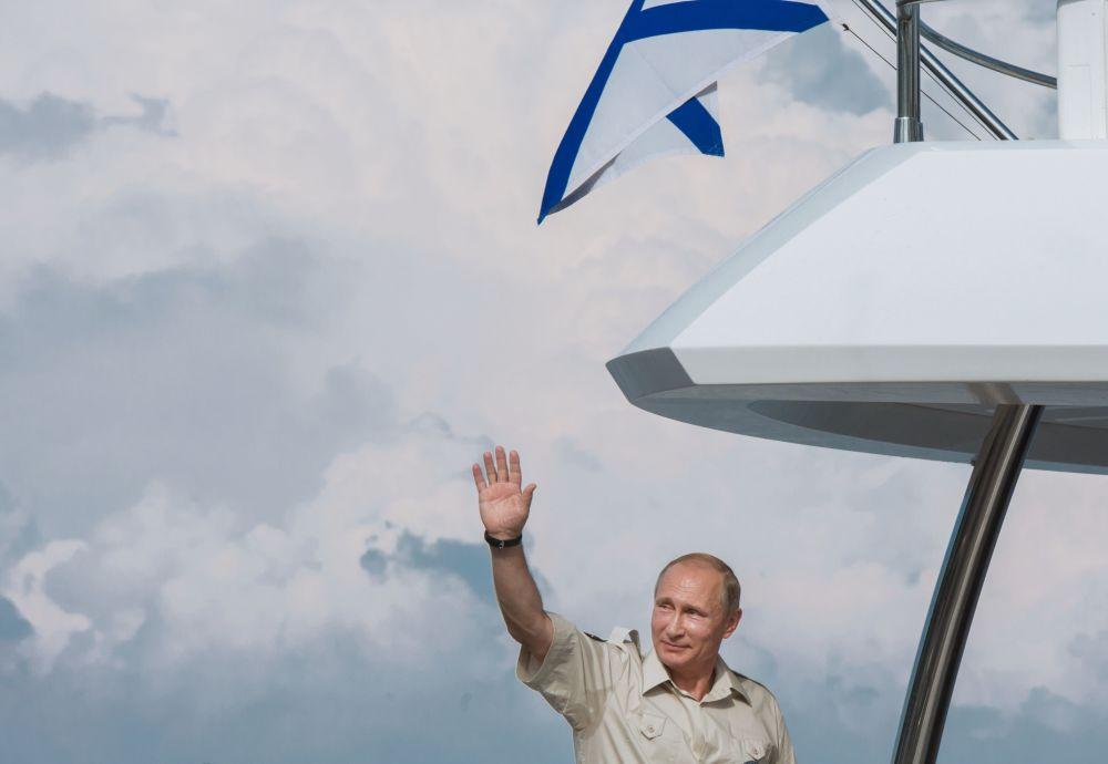 Buon Compleanno presidente Putin!