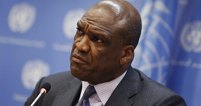 John Ashe, diplomatico 61enne di Antigua e Barbuda.