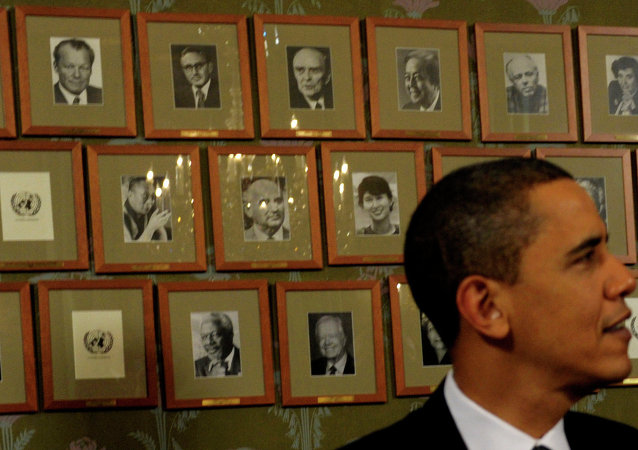 Barack Obama, Nobel per la pace nel 2009