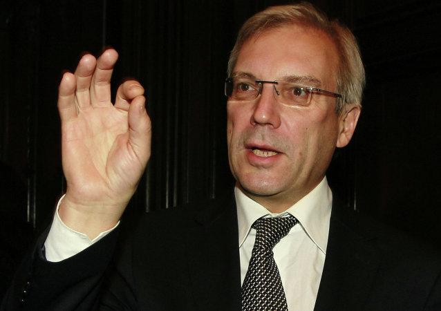 Rappresentante permanente della Russia alla NATO Alexander Grushko