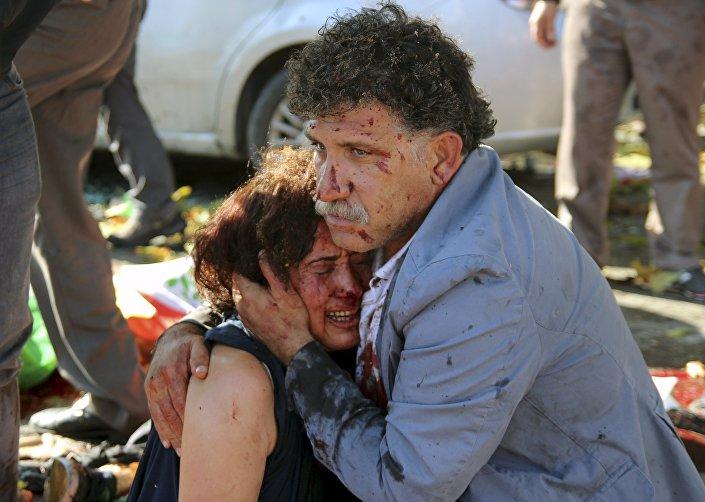 Attentato ad Ankara, 10 ottobre 2015