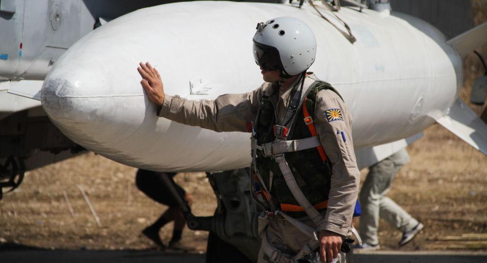 Pilota russo in Siria