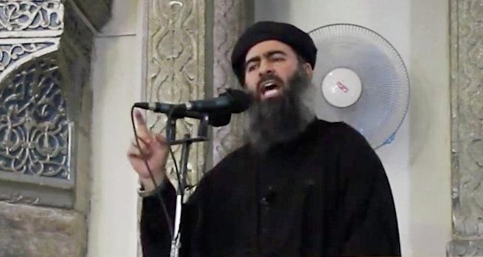 Il capo dello Stato Islamico Abu Bakr al-Baghdadi