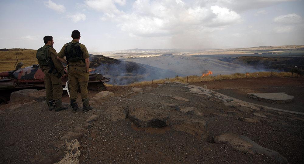 Soldati israeliani in prossimità del confine siriano (foto d'archivio)