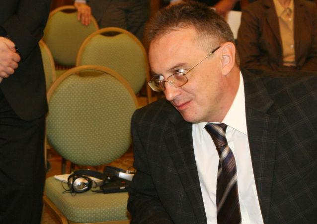 L'ambasciatore russo in Siria Alexander Kinschak