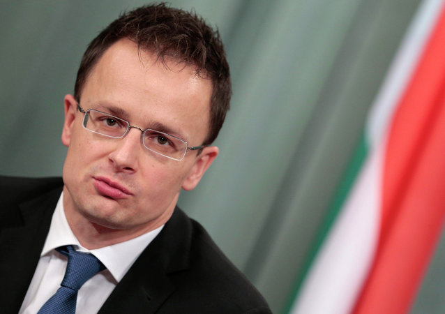 Hungarian Foreign Minister Peter Szijjarto