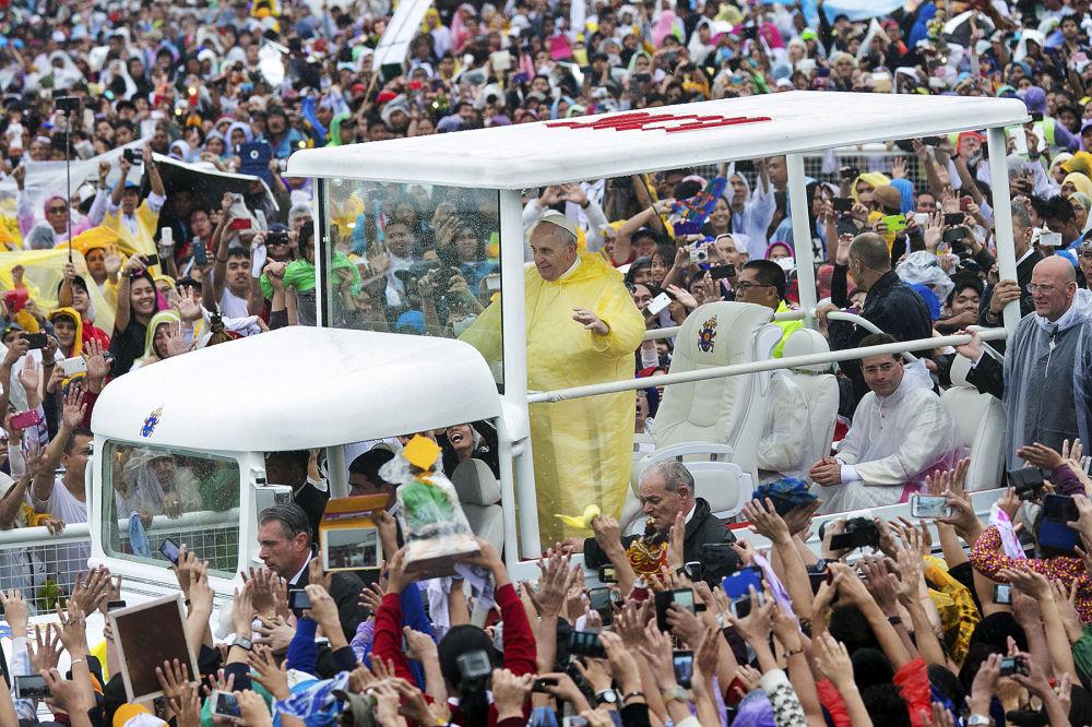 Papa Francesco a Manila.